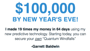 Quantum Windfalls - $100,000 By New Years Eve? [Review] 3