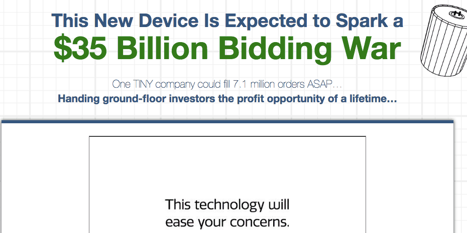 $35 billion bidding war