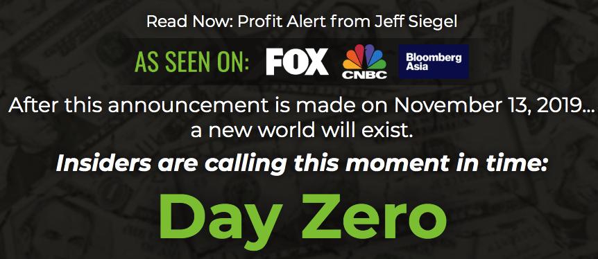 day zero by jeff siegel