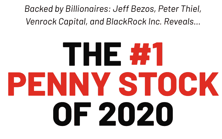 the #1 penny stock of 2020 website