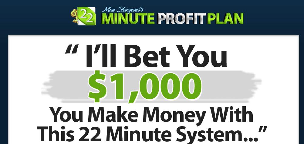 22 minute profit plan website