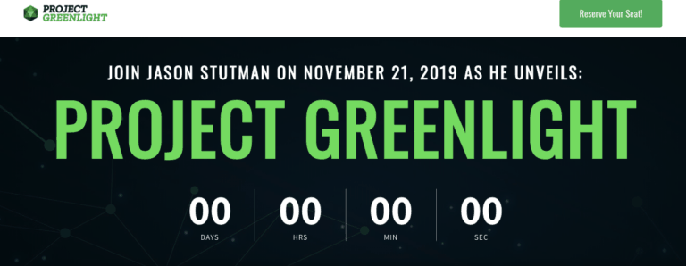 project greenlight website