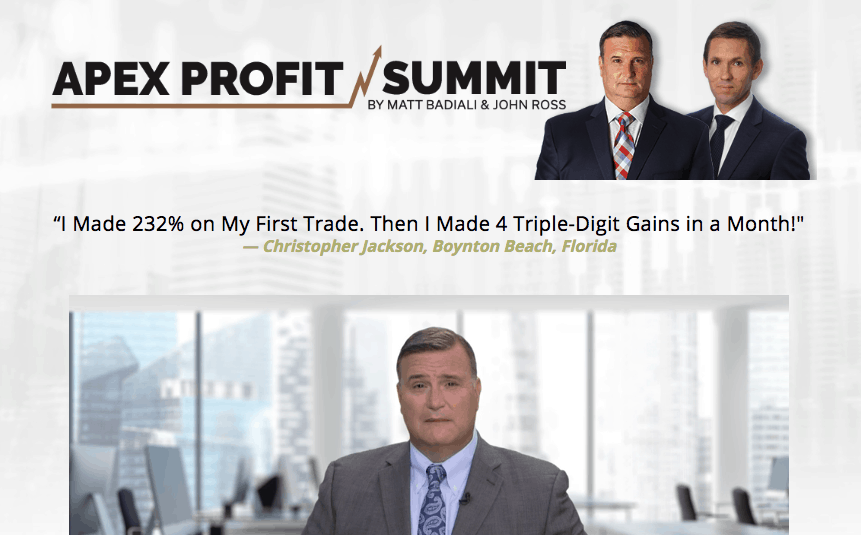 apex profit summit website