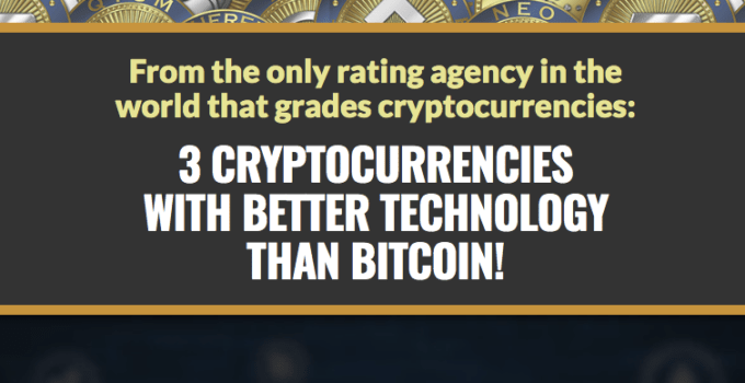 3 cryptocurrencies with better technology than bitcoin
