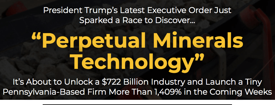 perpetual minerals technology