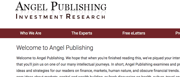 angel publishing