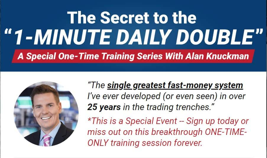 1-Minute Daily Double by Alan Knuckman