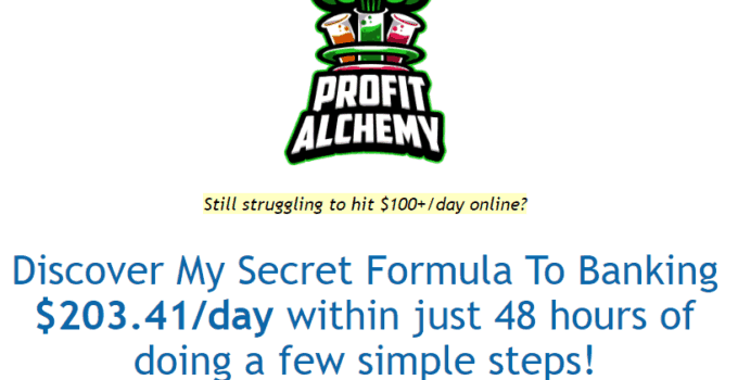 Profit Alchemy - Scam Exposed or Legit? [Review] 31
