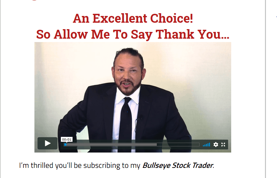 Bullseye Stock Trader by Jim Woods [Unbiased Review] 2
