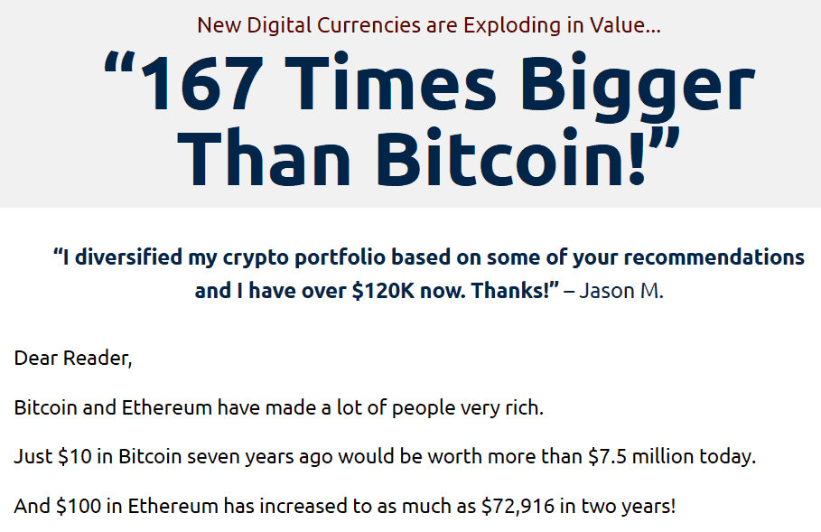 167 Times Bigger Than Bitcoin - Honest Review 8