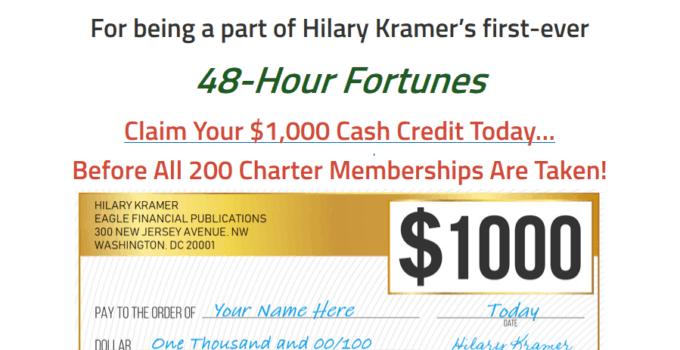 48 Hour Fortunes - Is Hilary Kramer's '48 Hour Fortunes' Legit? 35