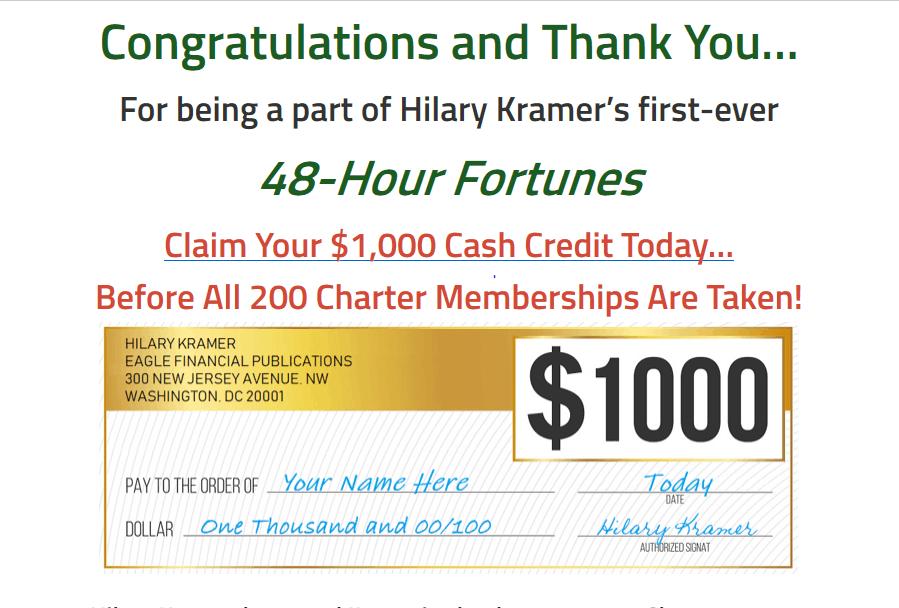 48 Hour Fortunes - Is Hilary Kramer's '48 Hour Fortunes' Legit? 2