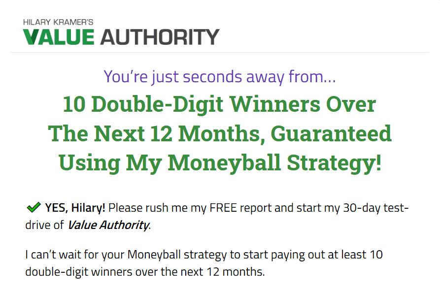 Value Authority - Is Hilary Kramer's 'Moneyball Strategy' Legit? 2
