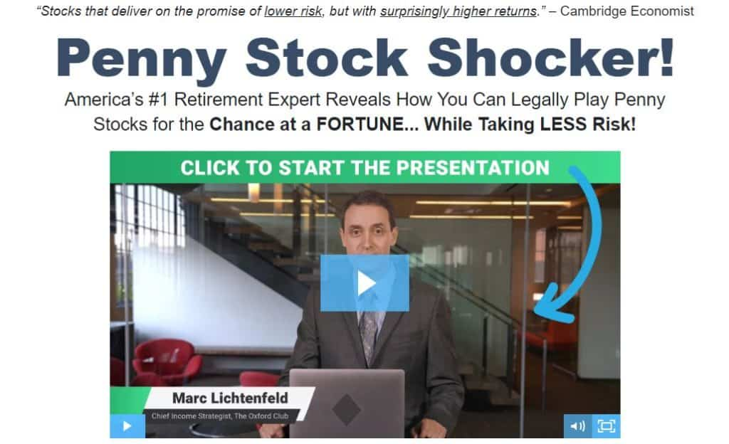 Penny Stock Shocker by Marc Lichtenfeld
