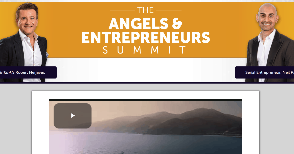 angels and entrepreneurs summit