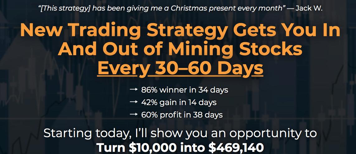 junior mining trader