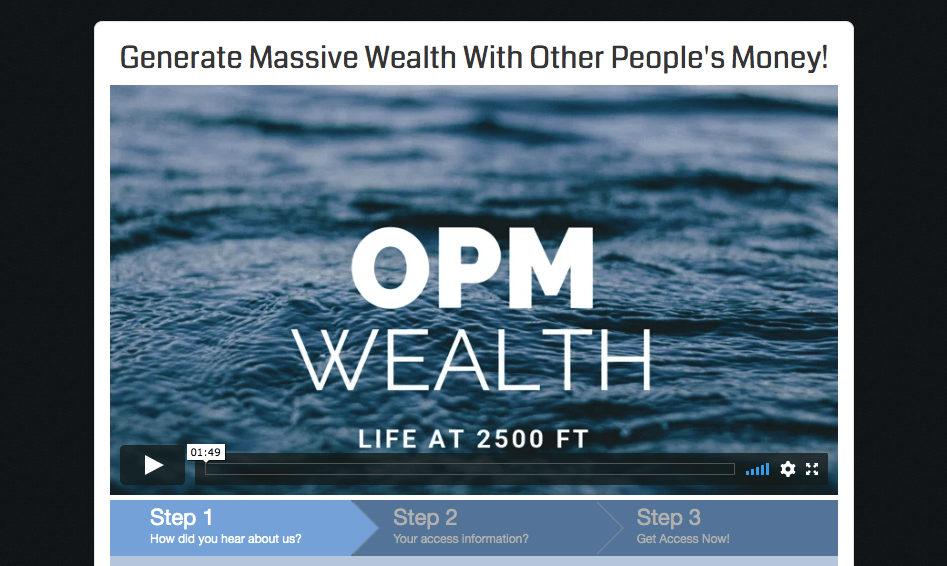 opm wealth website