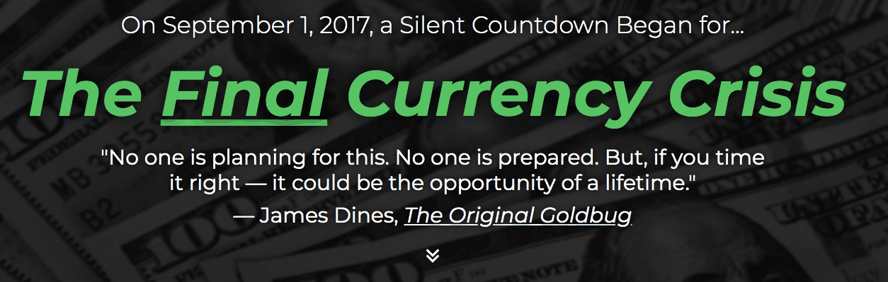 the final currency crisis