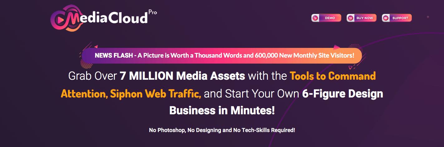 media cloud pro website