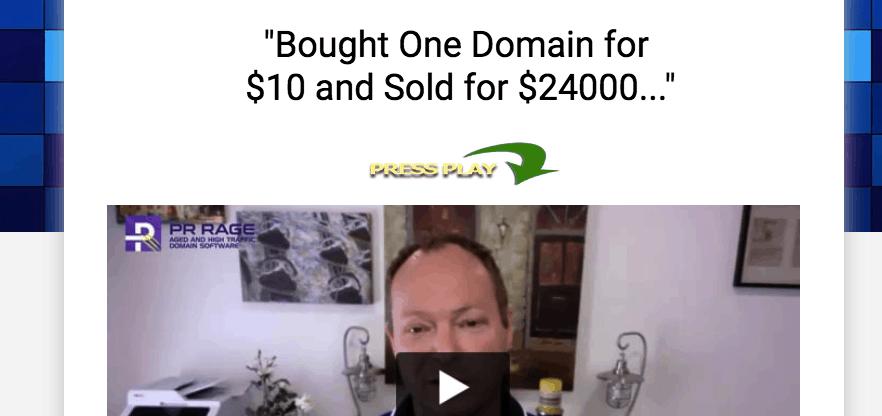 pr rage domain software