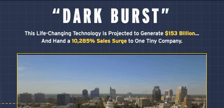 dark burst presentation