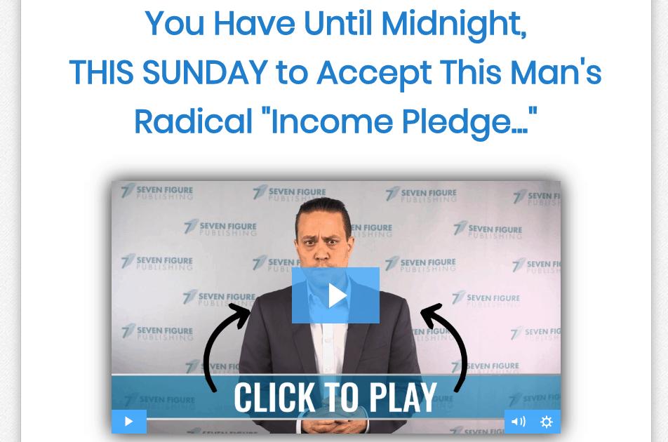 aaron gentzler income pledge
