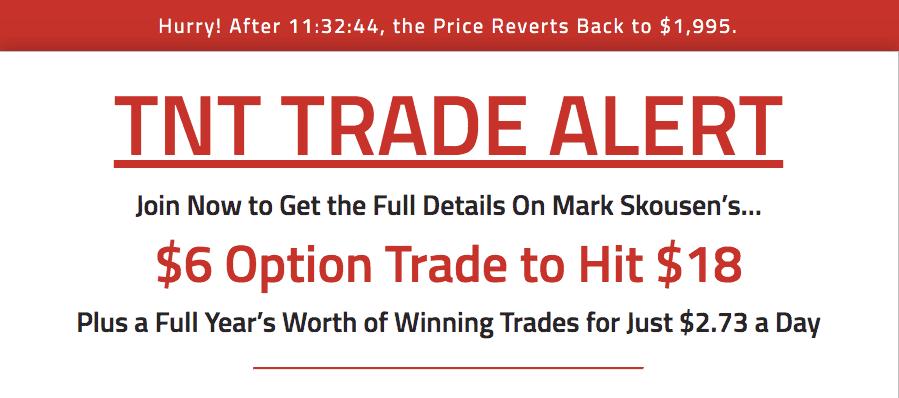 tnt trade alert