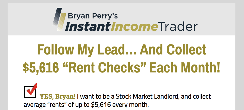 bryan perry's instant income trader