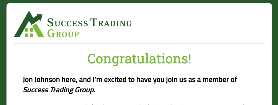 success trading group