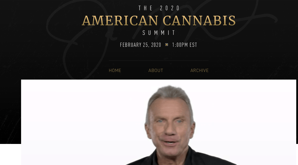 the 2020 american cannabis summit