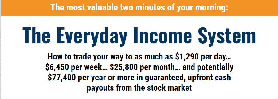 The Everyday Income System (Strategic Trader)