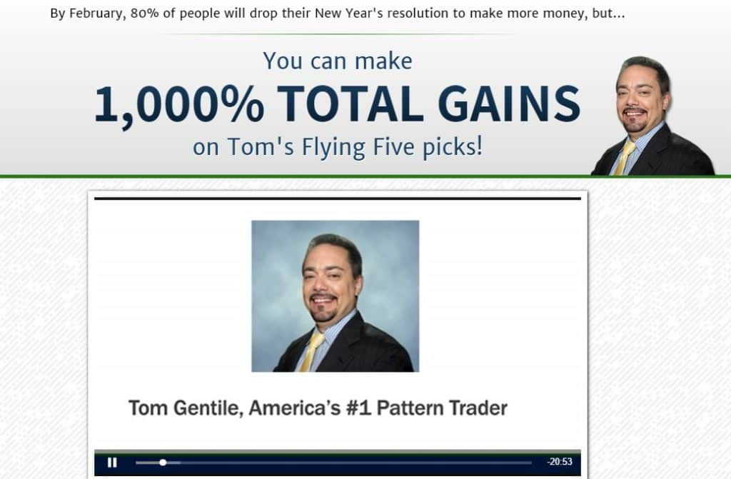 Tom's Flying Five Picks by Tom Gentile