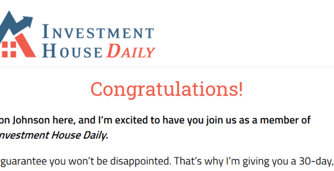 Investment House Daily from Jon Johnson [Honest Review] 18