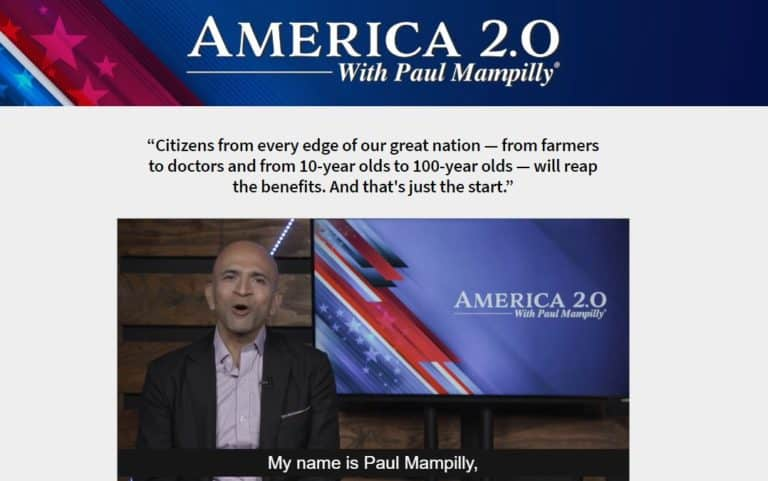 America 2.0 by Paul Mampilly