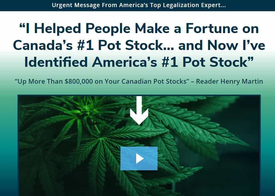 America's #1 Pot Stock by Matthew Carr