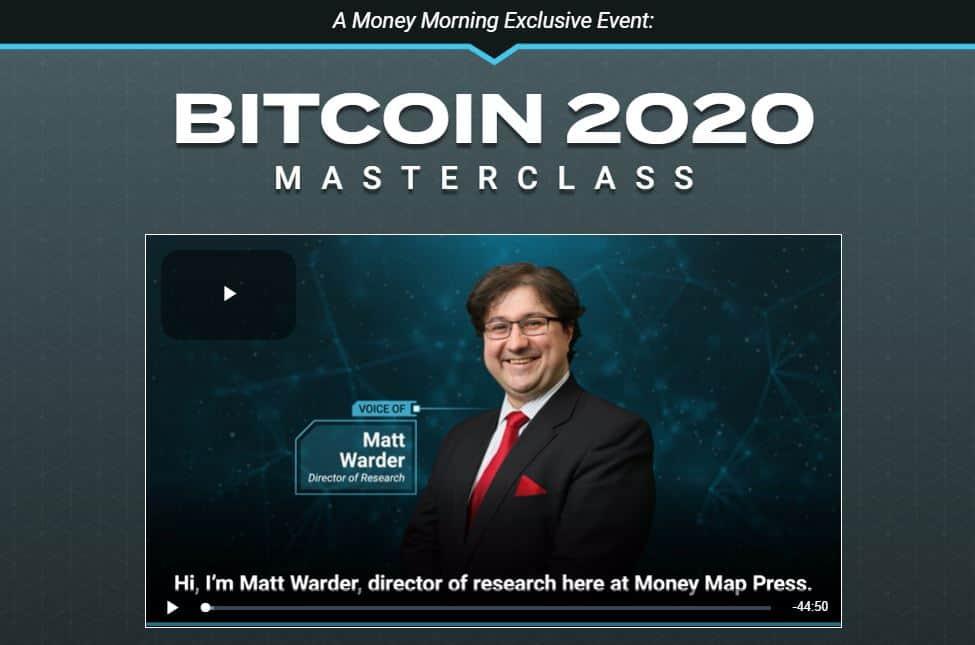 Bitcoin 2020 Masterclass by Michael Robinson
