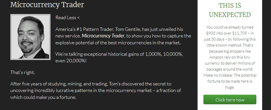 """Microcurrency Trader"" by Tom Gentile [Unbiased Reviews] 11"