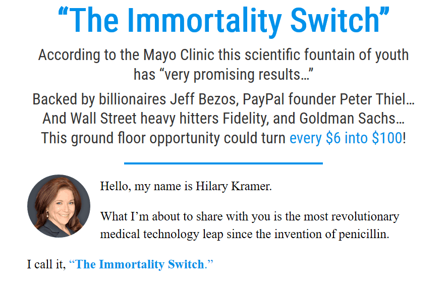 The Immortality Switch - Legit Stock Turning $6 Into $100? 2