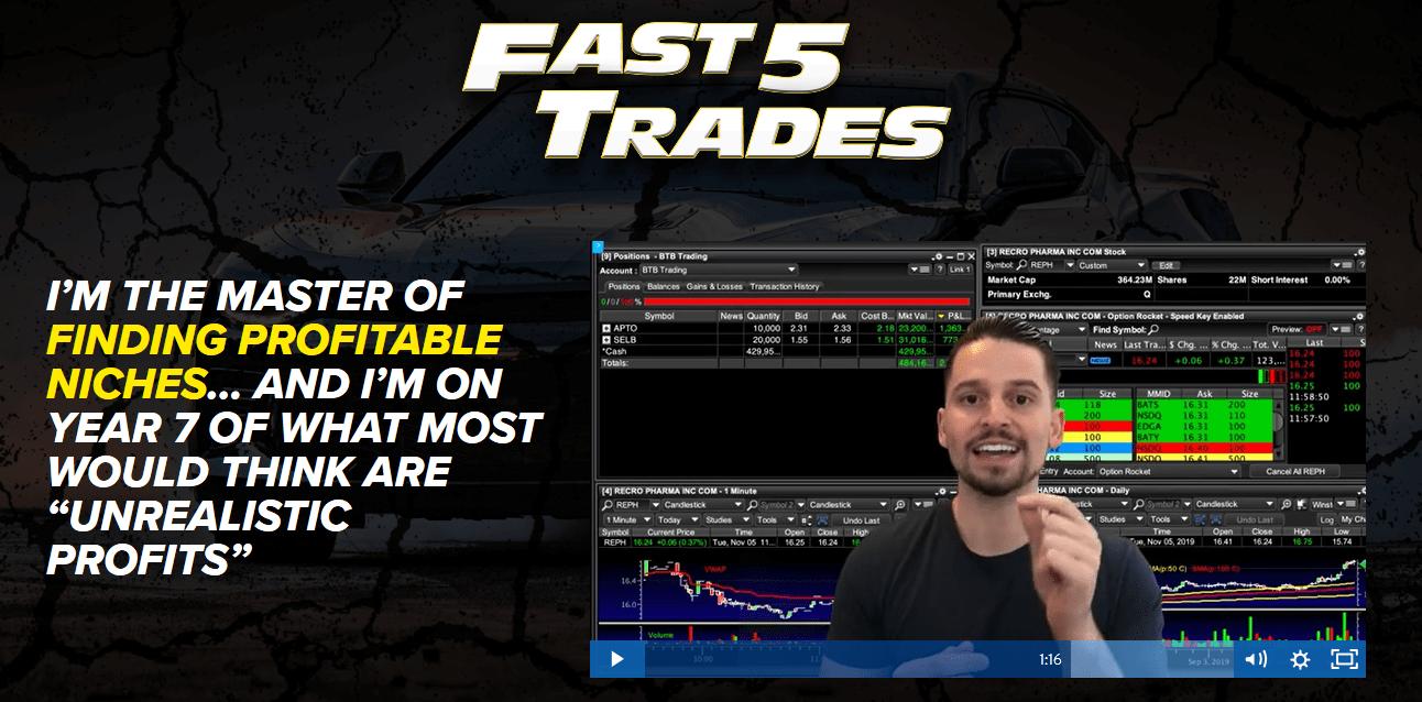 Fast 5 Trades