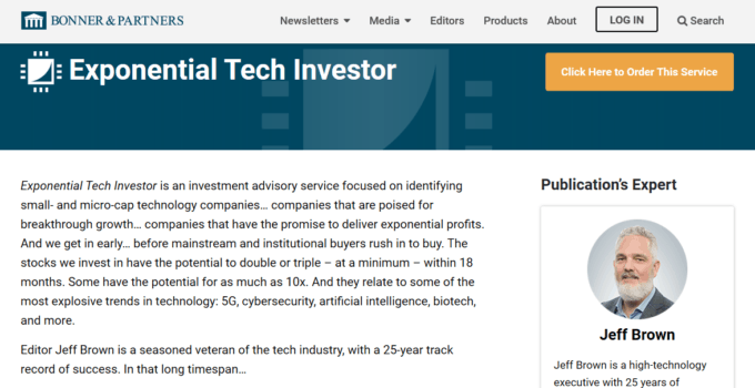 Exponential Tech Investor by Jeff Brown [Unbiased Review] 23