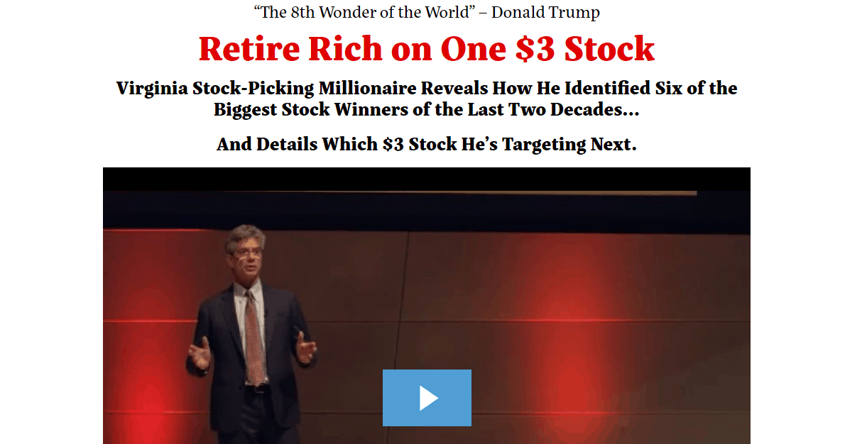 Retire Rich On One $3 Stock