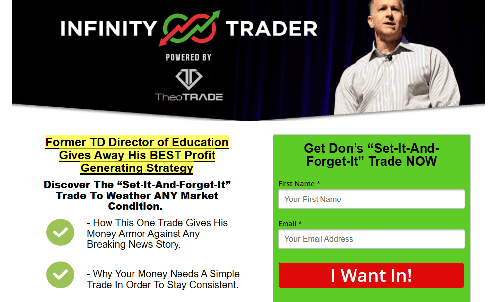 Infinity Trader by TheoTrade