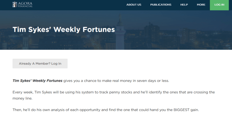 """Is """"Tim Sykes' Weekly Fortunes"""" Worth Your Time? 20"""