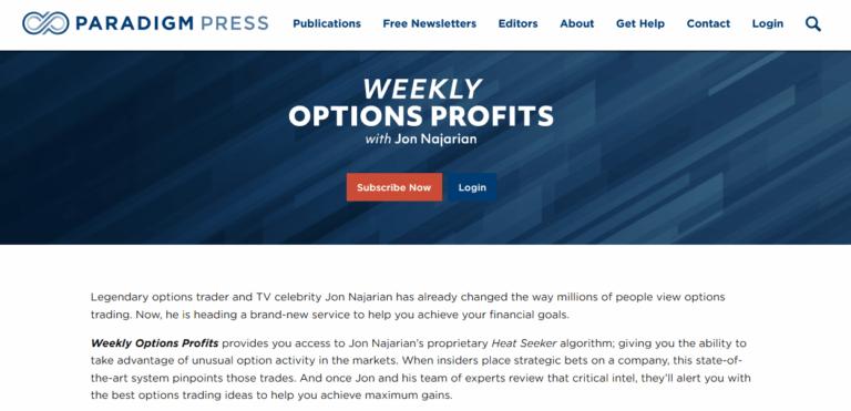 Weekly Options Profits