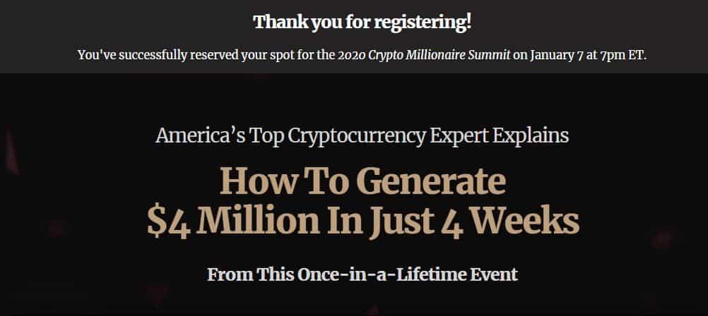 Crypto Millionaire Summit by Matt McCall