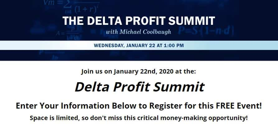 Delta Profit Summit by Michael Coolbaugh