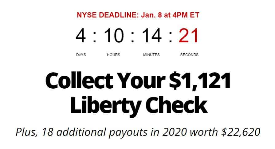 Liberty Checks Payout by Steve Mauzy