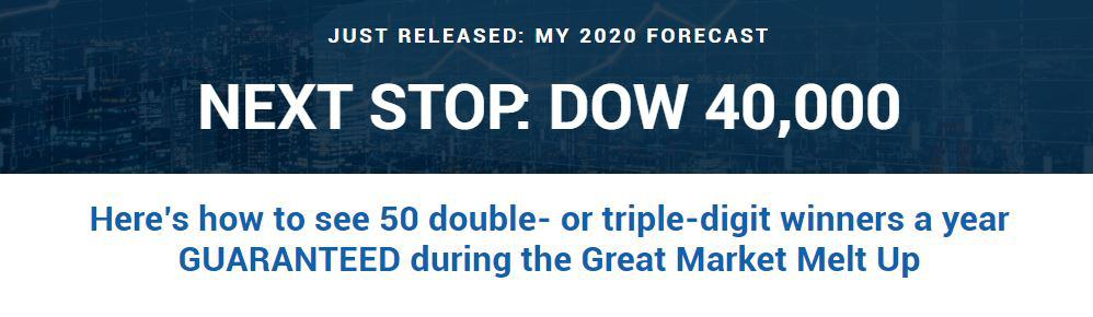 Next Stop Dow 40,000 (Platinum Growth Club)