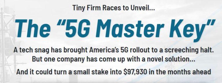 """The """"5G Master Key"""" by E.B. Tucker"""