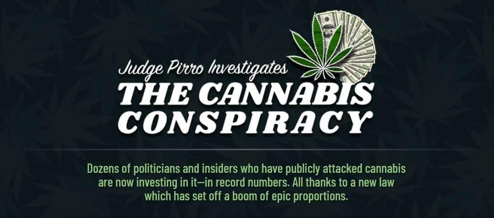 The Cannabis Conspiracy by Teeka Tiwari